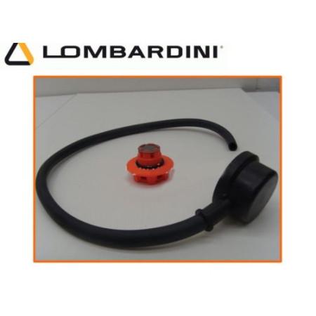 KIT CAPPUCCIO SFIATO CON TUBO + TAPPO SFIATO 3LD-4LD-6LD-7LD LOMBARDINI