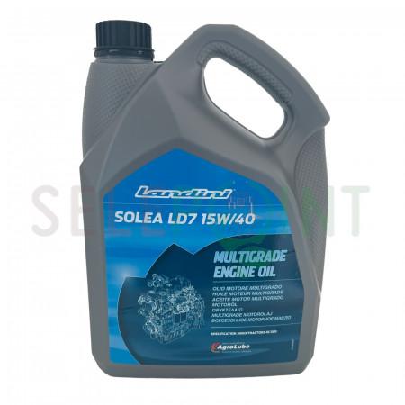 OLIO MOTORE AGROLUBE SOLEA LD7 15W40 DA litri 5 Originale Landini