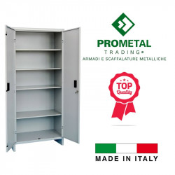 ARMADIO TUTTOPIANI PROMETAL CM 80X40X180