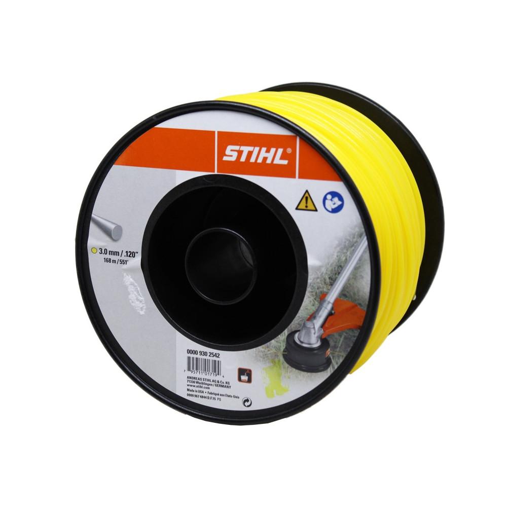 FILO NYLON STIHL TONDO GIALLO    3,0 X 1