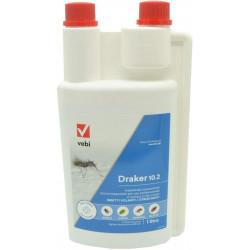 INSETTICIDA CONCENTRATO VEBI DRAKER 10.2 2 1 litro per mosche zanzare tigri