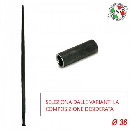 PUNTA ROTOBALLE BALLE PUNTE FIENO PER PAGLIA 36X1100 CON ACCESSORI