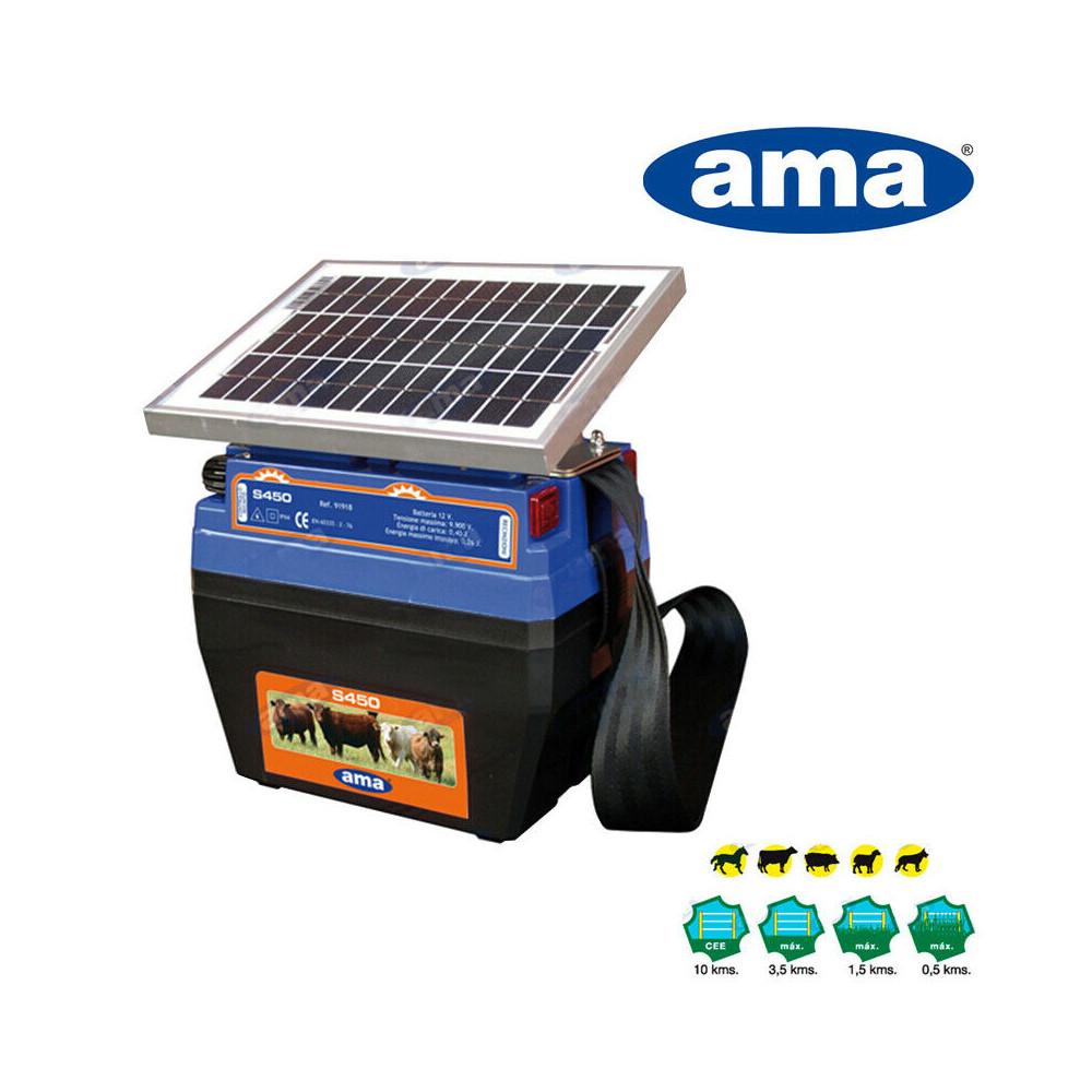 ELETTRIFICATORE AMA S450 CON PANELLO