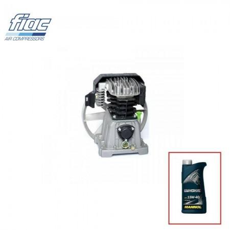 """Distributore oleodinamico idraulico basic a 1 leva doppio effetto 3/8"""" 40 litri"""