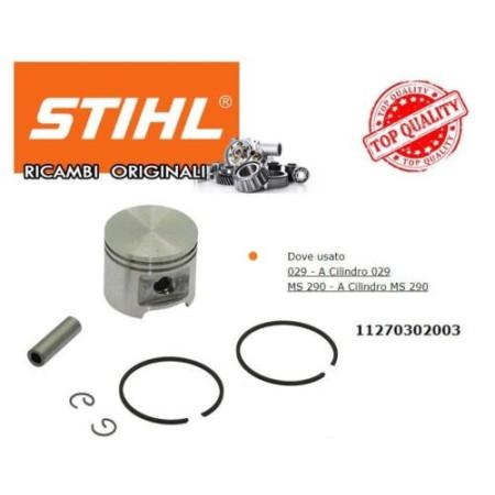 PISTONE PER CILINDRO ORIGINALE STIHL MOTOSEGA 029 MS290 COD. 11271200650
