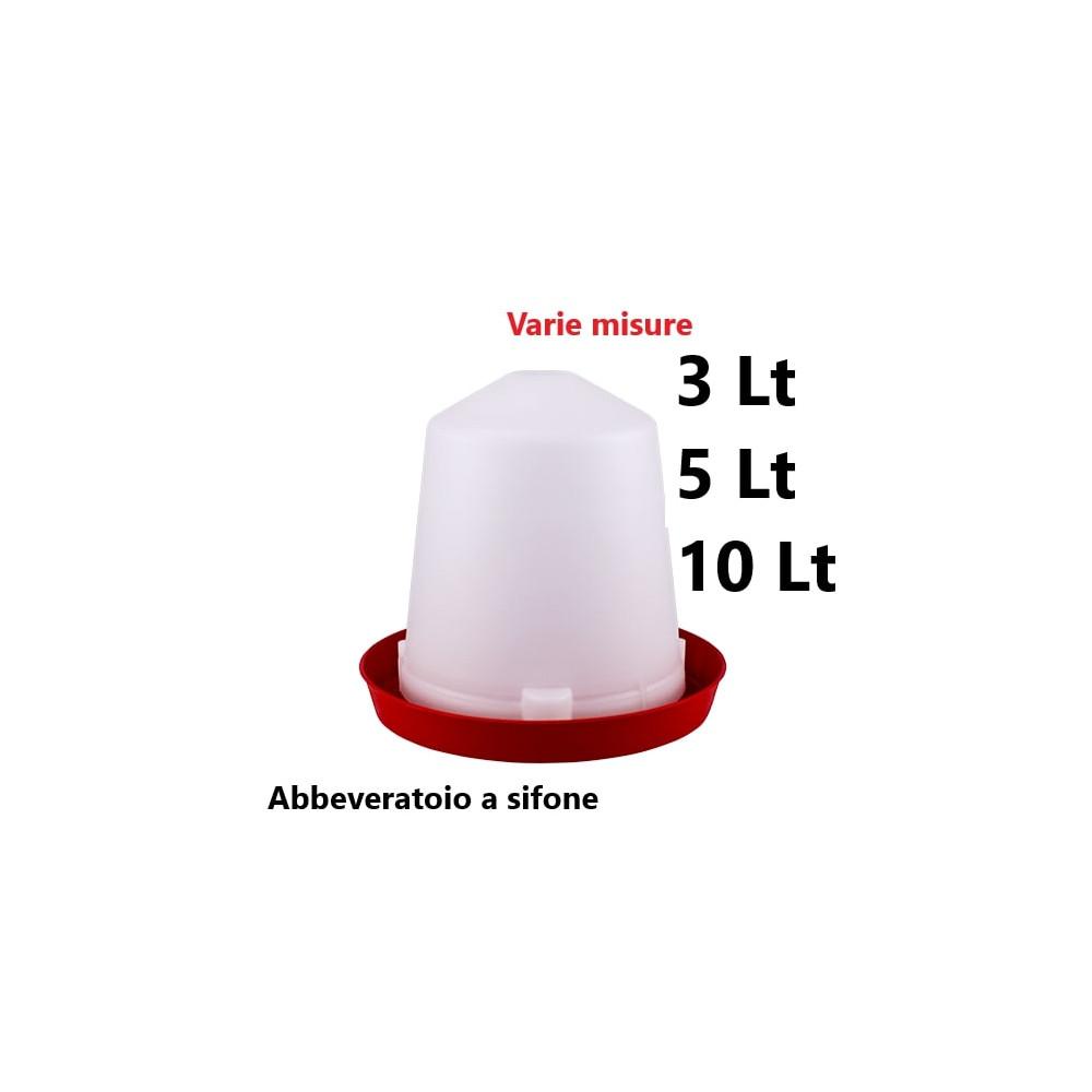 ABBEVERATOIO A SIFONE PER GALLINE POLLI