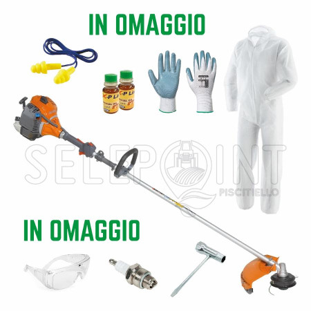 DECESPUGLIATORE A SCOPPIO OLEO MAC 1,8 HP SPARTA 381 S + OMAGGI